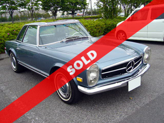 1970 Mercedes-Benz 280SL(委託車)