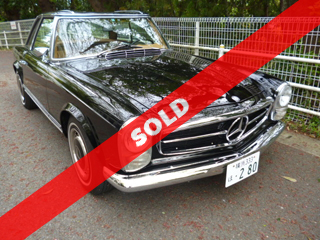 1969 Mercedes-Benz 280SL(逗子)