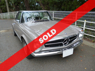 1969 Mercedes-Benz 280SL(委託車)
