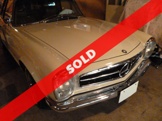 1967 Mercedes-Benz 280SL(委託車)