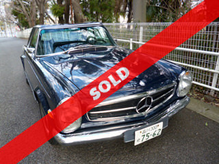 1968 Mercedes-Benz 280SL(目白)