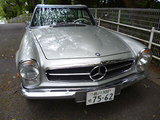 Mercedes-Benz 280SL(Santa Monica)
