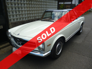 Mercedes-Benz 280SL(田園調布)