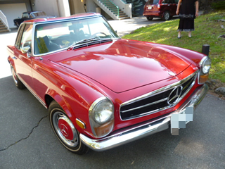 Mercedes-Benz 280SL(鳴沢)